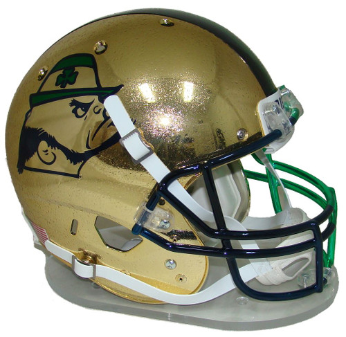 Notre Dame Fighting Irish Alternate 2015 HydroSkin Boston Shamrock Series Schutt Full Size Replica XP Football Helmet