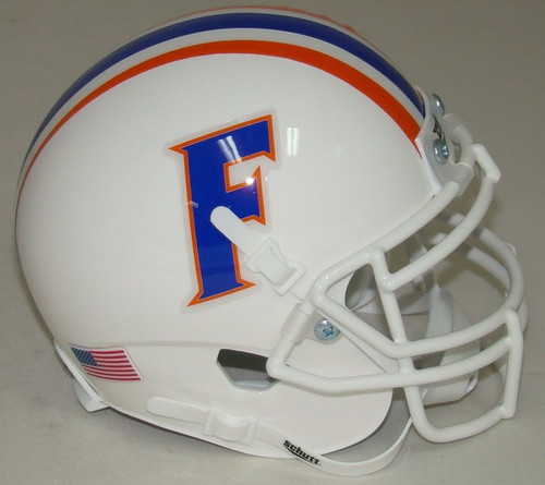 Florida Gators Alternate White Schutt Mini Authentic Football Helmet