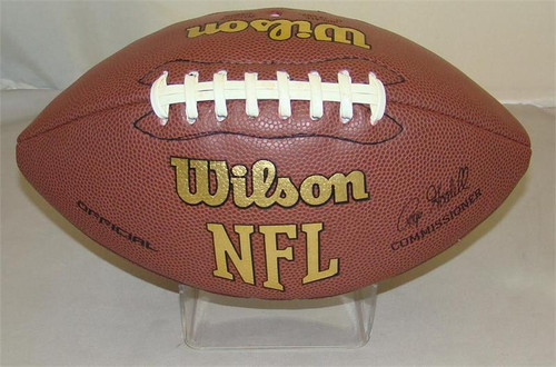 Acrylic Plastic Molded Football STAND