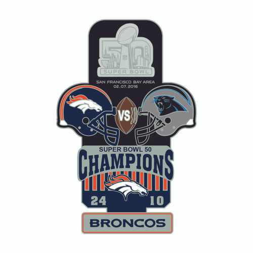 Super Bowl 50 Commemorative Lapel Pin
