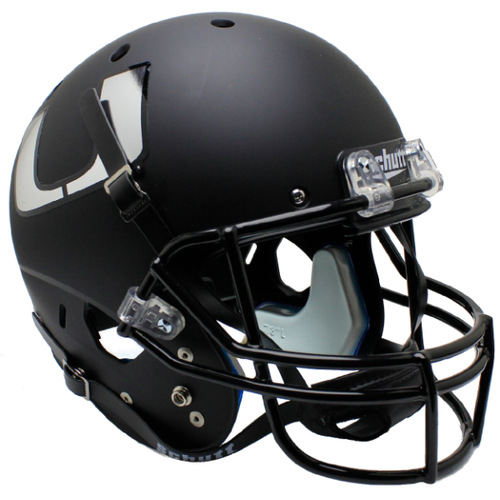 Miami Hurricanes Alternate Black Schutt Full Size Replica XP Football Helmet