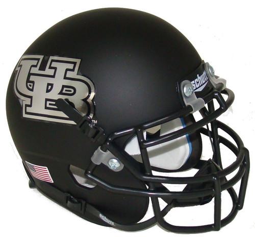 Buffalo Bulls Alternate Black Schutt Mini Authentic Football Helmet