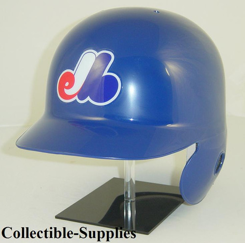 Montreal Expos Rawlings All Blue LEC Throwback Full Size Baseball Batting Helmet