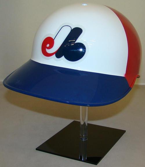 Montreal Expos Rawlings 3 Color Throwback Full Size Baseball Batting Helmet