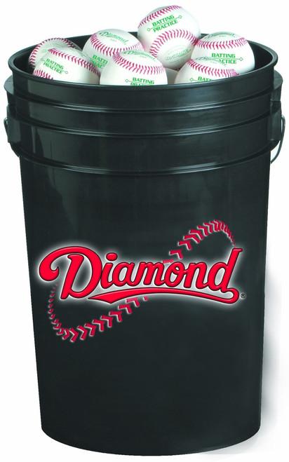 Diamond 30 Bucket Combo (includes 30 DBX Practice Baseballs)
