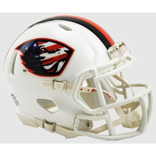 Oregon State Beavers Alternate White Salute NCAA Revolution SPEED Mini Helmet