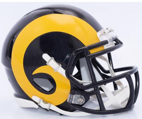Los Angeles Rams Retro Color Rush Revolution SPEED Mini Helmet