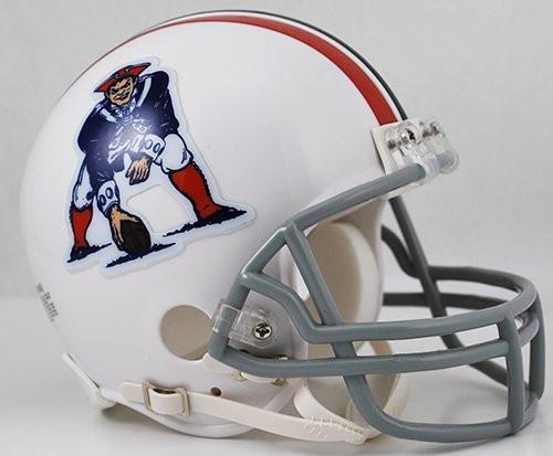 New England Patriots 1965-81 Riddell Mini Helmet