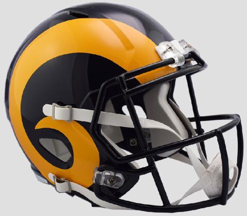Los Angeles Rams 1981-99 Retro Color Rush SPEED Riddell Full Size Replica Helmet