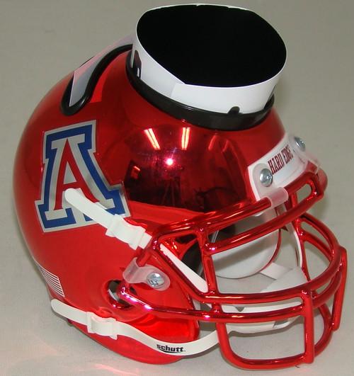 Arizona Wildcats (Red Chrome) Mini Helmet Desk Caddy by Schutt