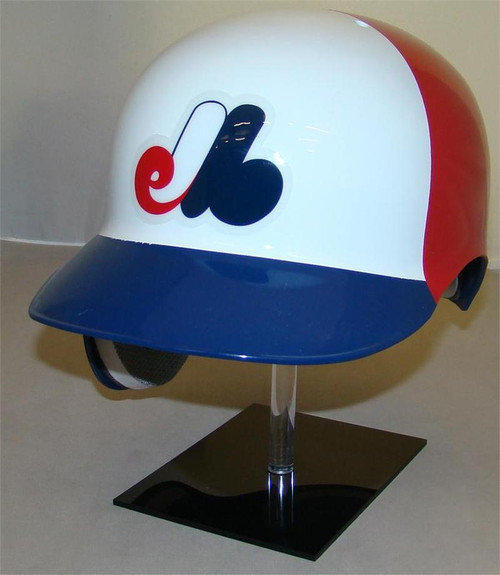 Montreal Expos Rawlings 3 Color Throwback REC Full Size Baseball Batting Helmet