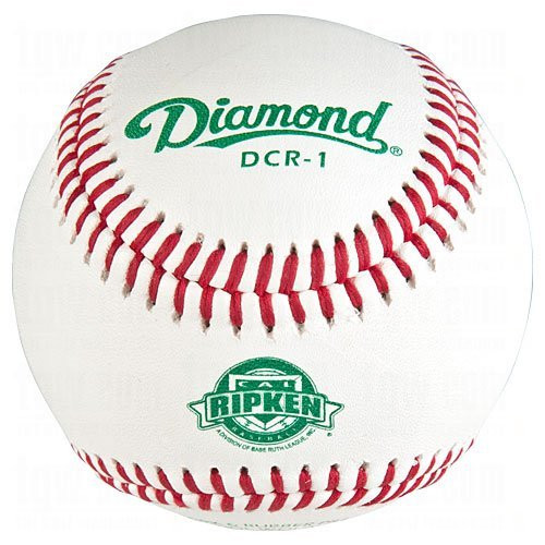 Diamond DCR-1 Cal Ripken League Leather Baseballs Dozen