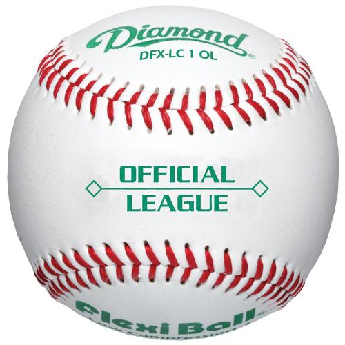 Diamond DFX-LC1 OL Official League Leather Baseballs (Dozen)