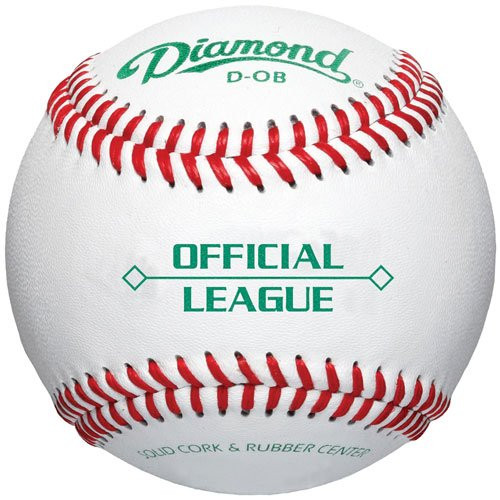 Diamond Official League Baseballs (Dozen) D-OB