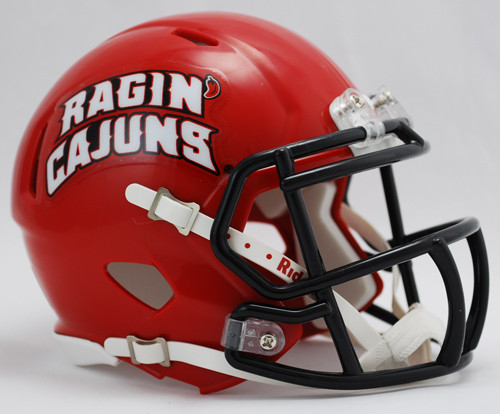 Louisiana (Lafayette) Ragin Cajuns NCAA Revolution SPEED Mini Helmet