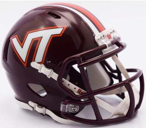 Virginia Tech Hokies 2016 NCAA Riddell Speed Mini Helmet