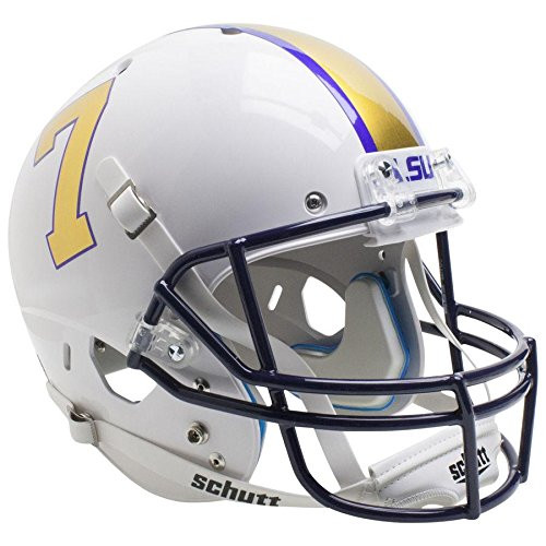 LSU Tigers Alternate Gridiron Gold Schutt Full Size Replica XP Football Helmet