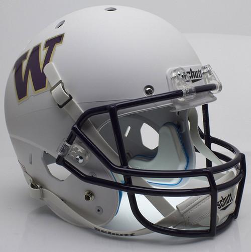 Washington Huskies Alternate White Schutt Full Size Replica XP Football Helmet