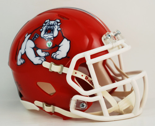 Fresno State Bulldogs NCAA Revolution SPEED Mini Helmet