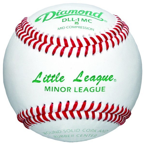 Diamond DLL-1 MC Little League Baseballs (Dozen)