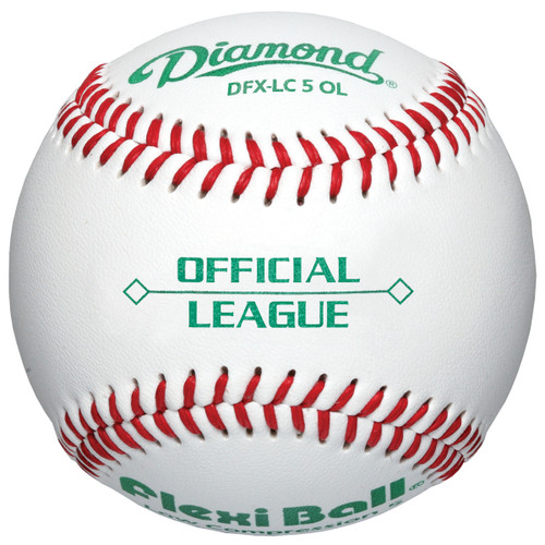 Diamond DFX-LC5 OL Official League Baseballs (Dozen)