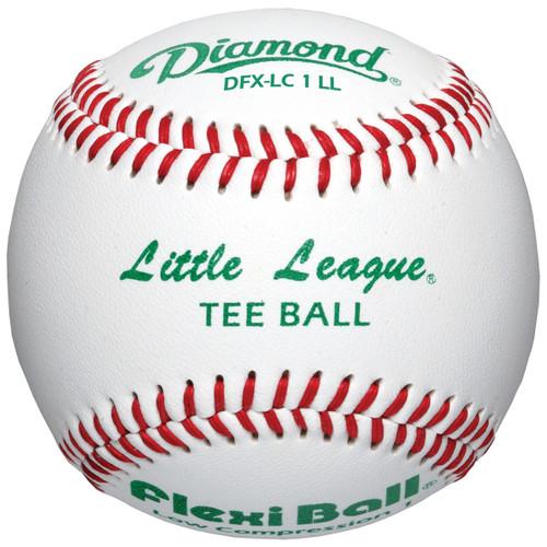 Diamond DFX-LC1 LL Little League Leather Baseballs (Dozen)