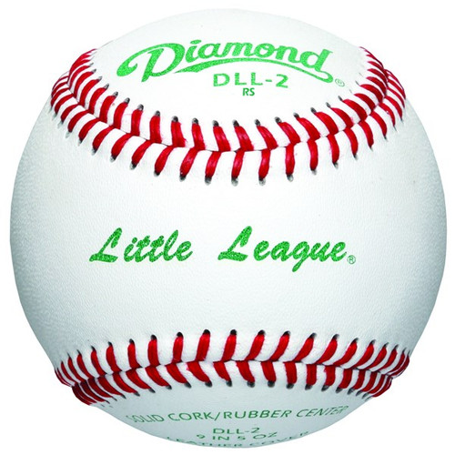 Diamond DLL-2 Little & Minor League baseballs (Dozen)