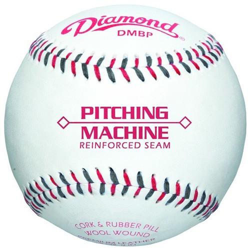 Diamond DMBP Pitching Machine & Training Baseball (Dozen)