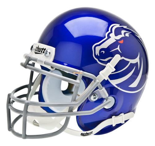 Boise State Broncos New 2011 Logo Schutt Blue Mini Authentic Helmet