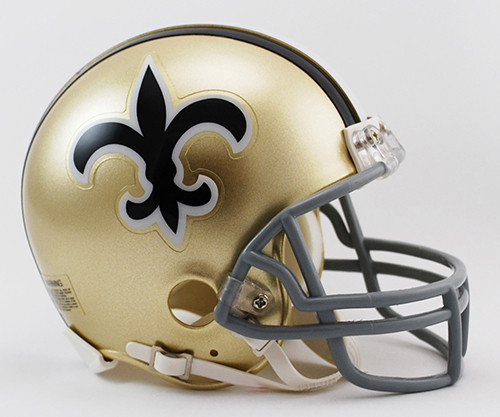 New Orleans Saints 1967-75 Throwback Riddell Mini Helmet
