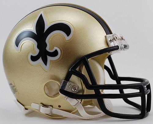 New Orleans Saints 1976-99 Throwback Riddell Mini Helmet