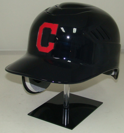 Cleveland Indians with C Logo Road Rawlings Coolflo REC Full Size Baseball Batting Helmet