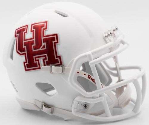 Houston Cougars Alternate White NCAA Riddell Speed Mini Helmet