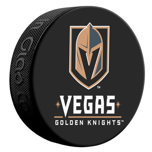 Las Vegas Golden Knights Sher-Wood Souvenir Puck