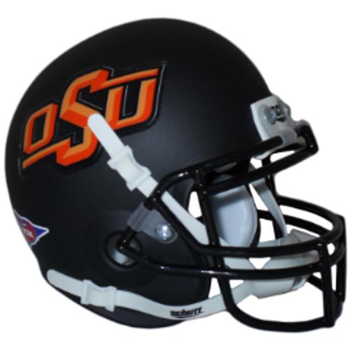 Oklahoma State Black Cowboys Schutt Mini Authentic Helmet