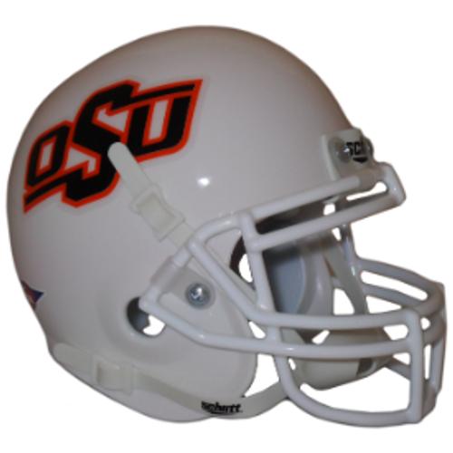 Oklahoma State Cowboys Alternate White Schutt Mini Authentic Helmet