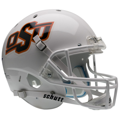 Oklahoma State Cowboys White Schutt Full Size Replica XP Football Helmet