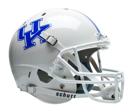 Kentucky Wildcats White Schutt Full Size Replica XP Football Helmet