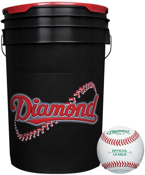 Diamond 30 Bucket Combo (includes 30 DOL-A Baseballs)