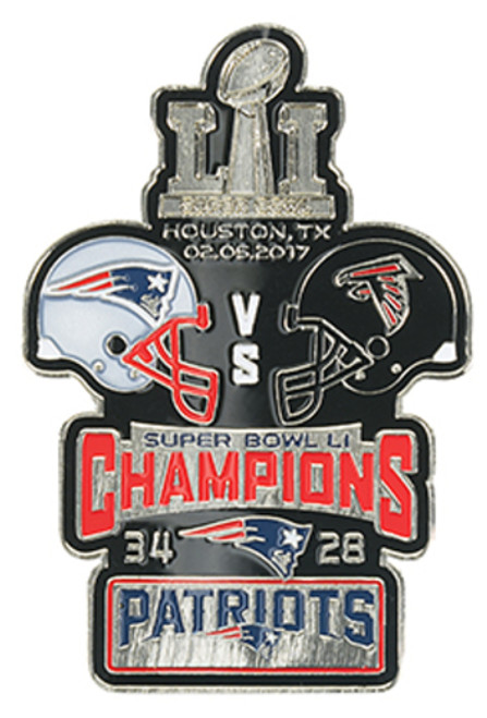 Super Bowl LI (51) Commemorative Lapel Pin
