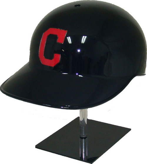 Cleveland Indians All Blue Road Rawlings Classic NEC Full Size Baseball Batting Helmet