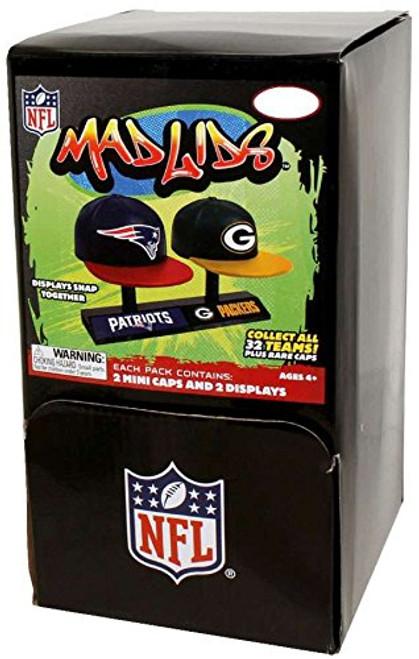 Mad Lids - NFL Series 1 - BOX (32 Blind Packs)