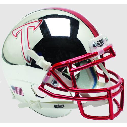 Troy State Trojans Alternate Chrome Schutt Mini Authentic Football Helmet