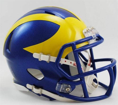 Delaware Blue Hens Revolution NCAA SPEED Mini Helmet