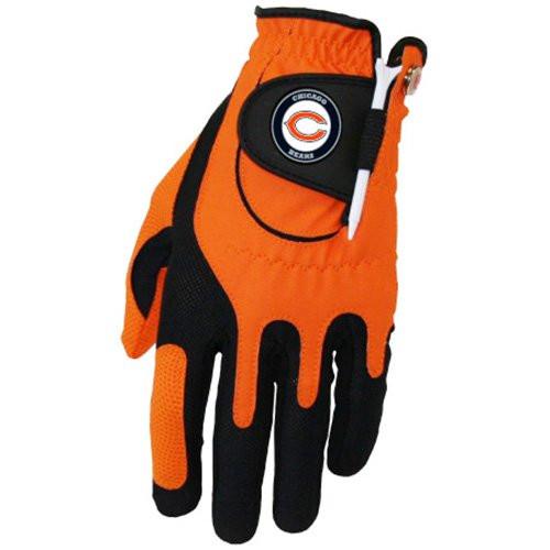 Zero Friction NFL Chicago Bears Orange Golf Glove, Left Hand