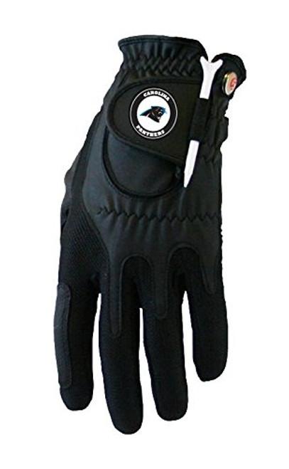 Zero Friction NFL Carolina Panthers Black Golf Glove, Left Hand