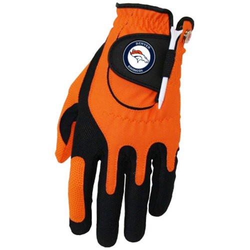 Zero Friction NFL Denver Broncos Orange Golf Glove, Left Hand