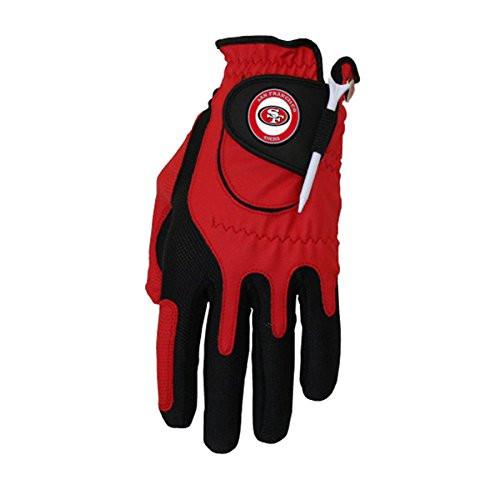 Zero Friction NFL San Francisco 49ers Red Golf Glove, Left Hand