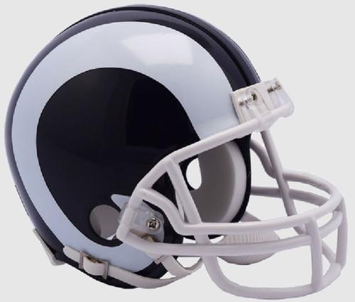 Los Angeles Rams 2017-2019 Throwback Mini Football Helmet by Riddell