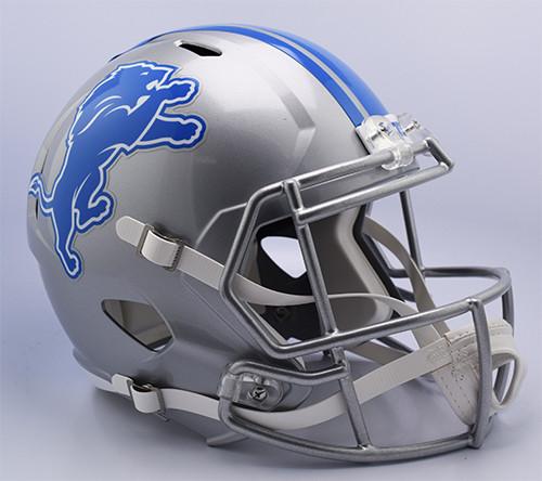 Detroit Lions 2017 Replica Speed Full Size Football Helmet by Riddell